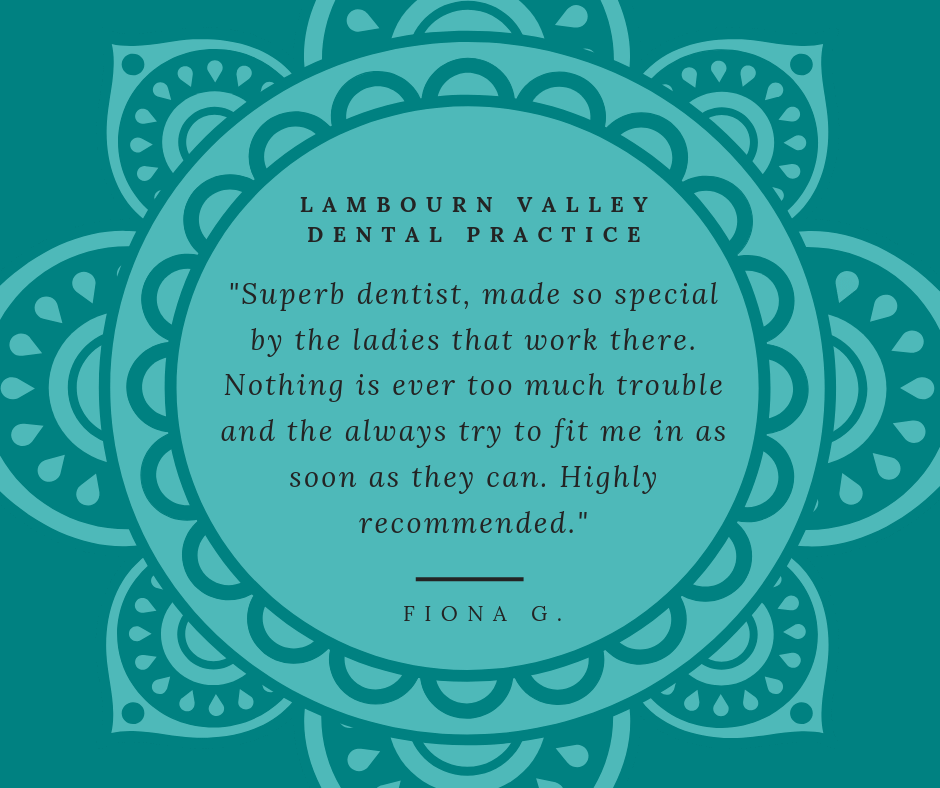 Lambourn Dental Patient Reviews